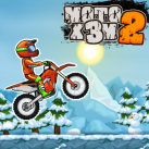 Moto X3M 4 Winter Bike Race Game